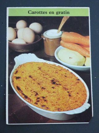 Carrots gratin