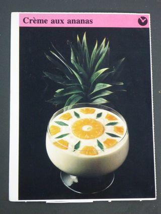 Creme aux ananas